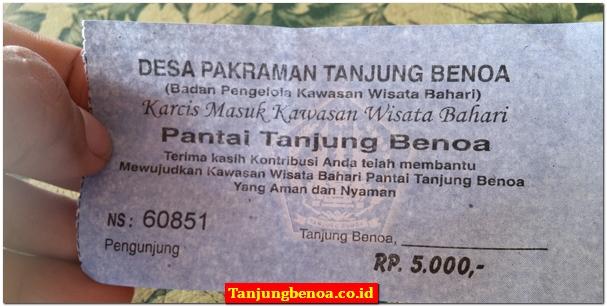 Tiket Masuk Tanjung Benoa